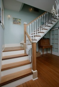 Attention-getting staircase with finely crafted detail